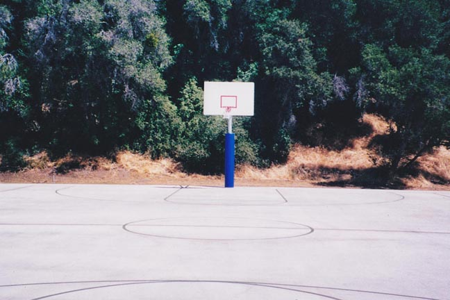 Basketball Court - Lines Only