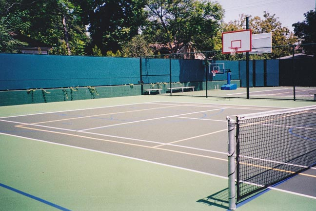 Basketball, Tennis & Multi-Game  Court