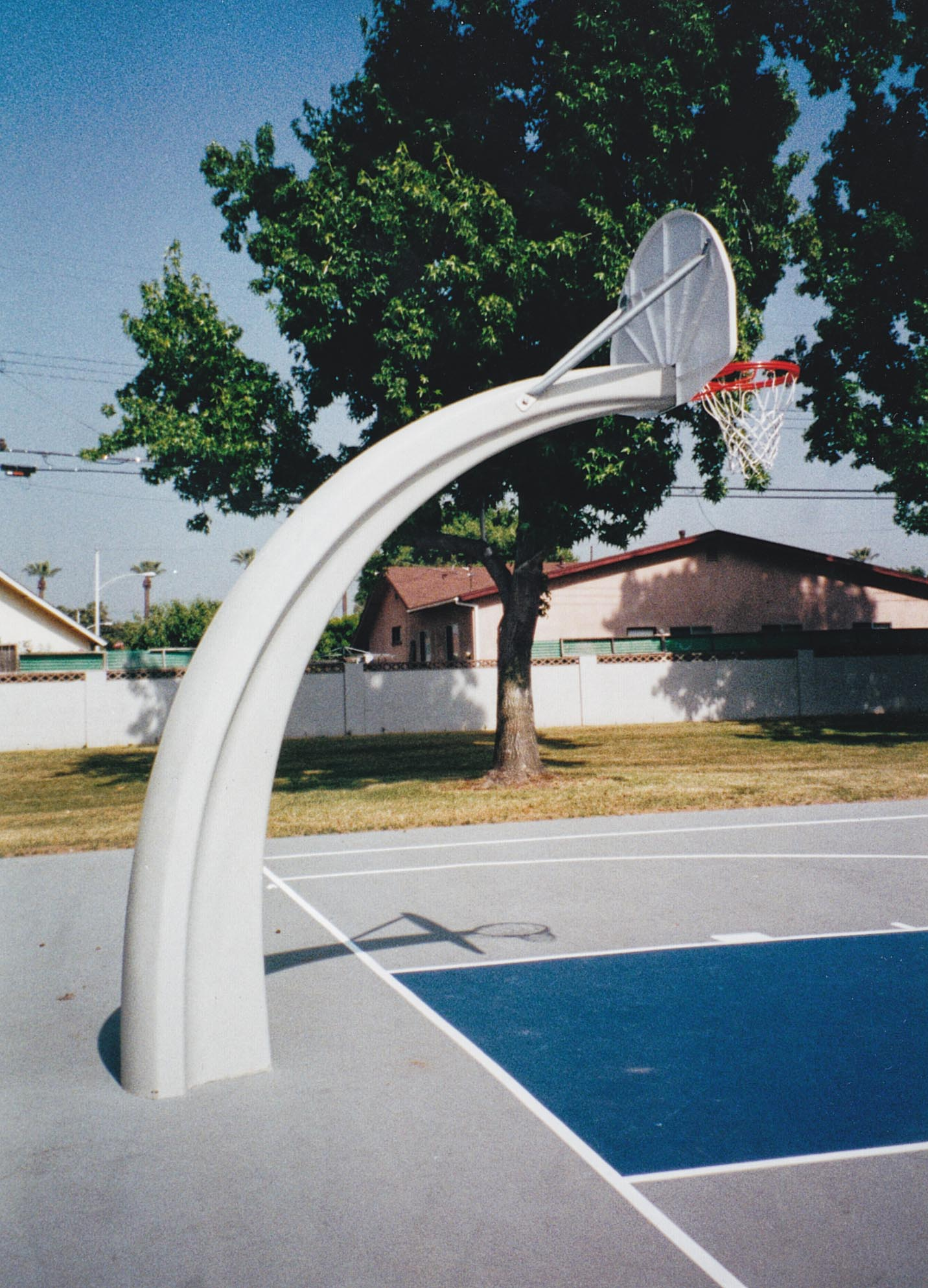 build the perfect basketball court