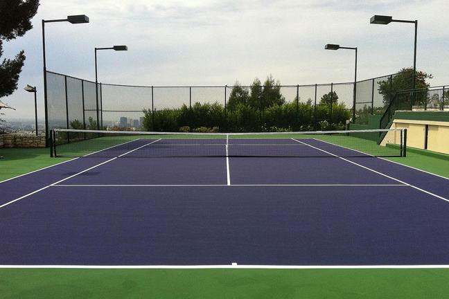 Grass Tennis Court In Backyard : Pacific Tennis Courts  Tennis Courts