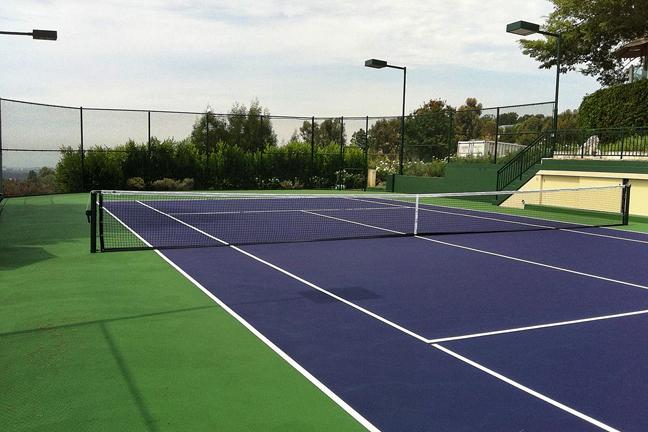 Grass Tennis Court In Backyard : backyard tennis court backyard tennis court backyard tennis court