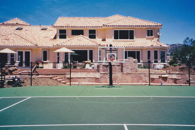 Residential Tennis & Game Court